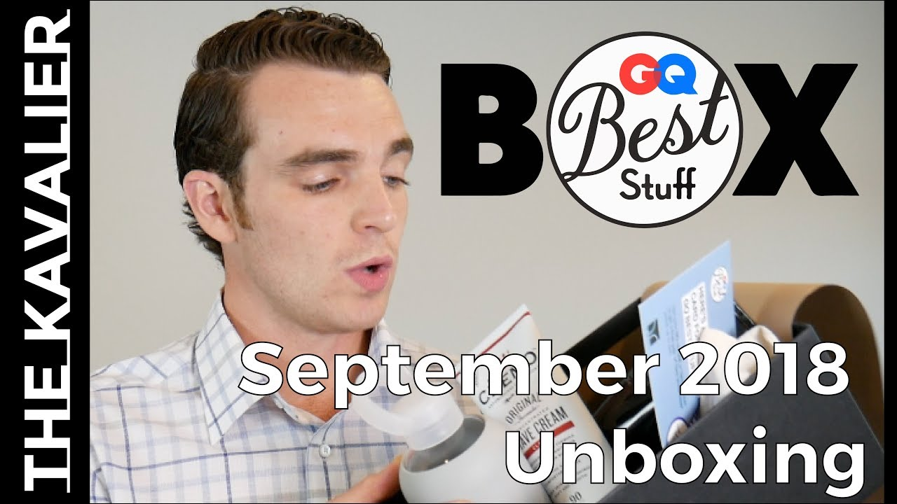 "GQ ""Best Stuff"" Box September 2018"