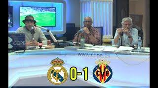 Real Madrid, 0 - Villarreal, 1 | Así se vivió en Tiempo de Juego la derrota blanca | COPE