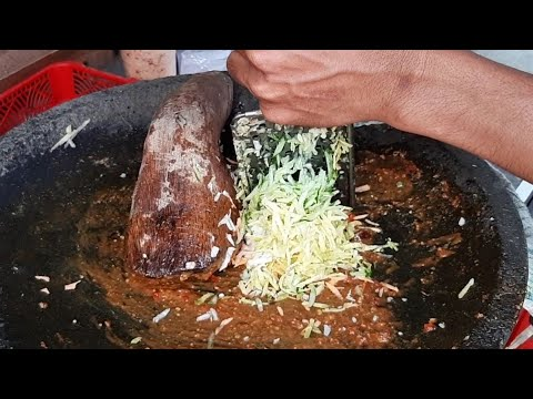 15 RIBU BIKIN GILER !! RUJAK SERUT LEVEL PEDAS - INDONESIAN STREET FOOD