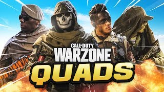 HIGH KILL QUADS! - WARZONE SEASON 3 (CoD Battle Royale)