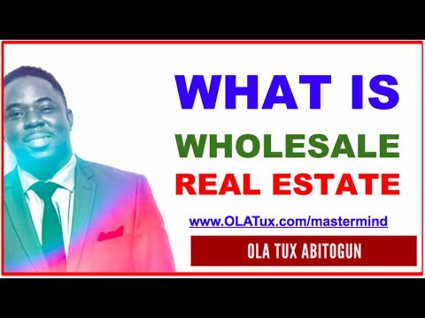 What is Wholesale Real Estate AND The [3 STEPS] Success Formula?