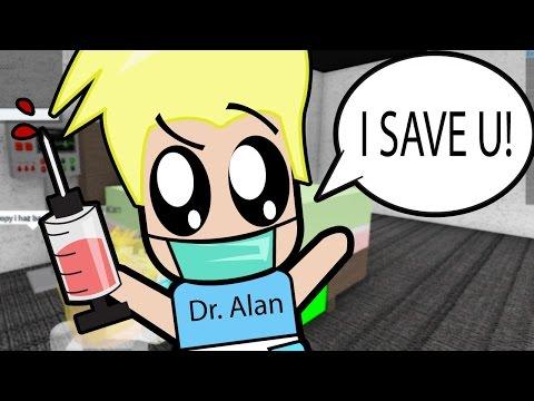 Roblox / Baby Alan Gives Everyone A Shot at Hospital! / Adventures of Baby Alan /Gamer Chad Plays