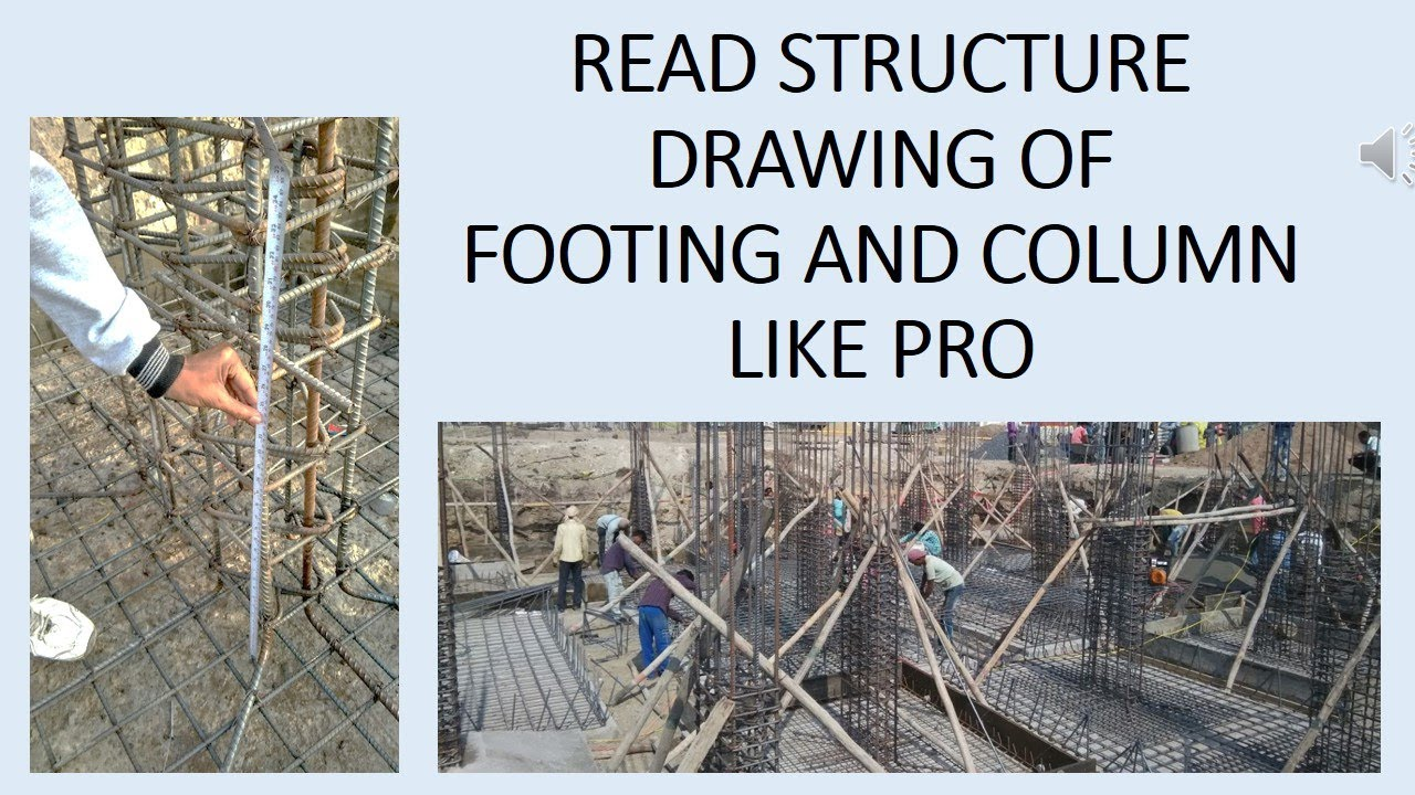 Read structural drawing like pro column footing drawing reading read structural drawing like pro column footing drawing reading construction structure drawing malvernweather Choice Image