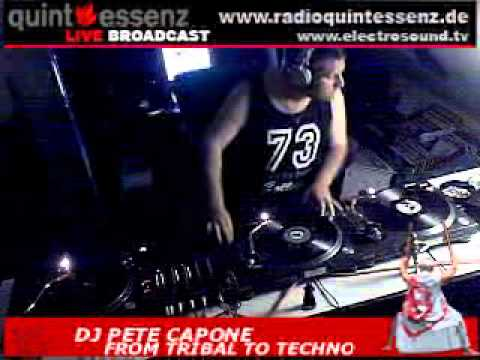 Pete Capone @ Tribal to techno 2008 july...