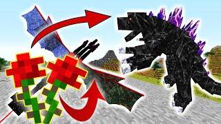 Minecraft Đảo Lộn #2 : Bông Hoa Chế Tạo Ra Siêu Rồng ??