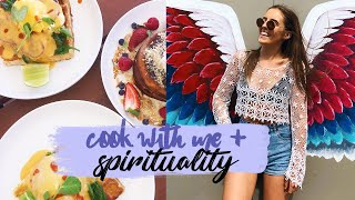 SPIRITUALITY, COOK WITH ME & MEET MY NEW PLANT BABIES.......yes I am 70