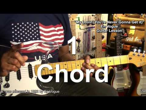 NEVER GONNA GET IT En Vogue Funk Guitar Lesson How To Play One Chord EricBlackmonGuitar