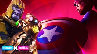 FORTNITE x AVENGERS ENDGAME EVENT! MARVEL SKINS, CHALLENGES, REWARDS & MORE!