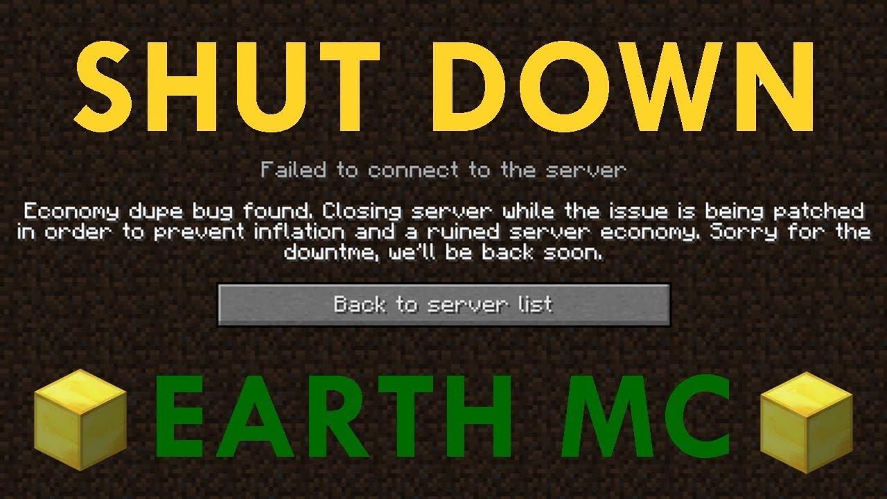 Minecraft Duping - EarthMC