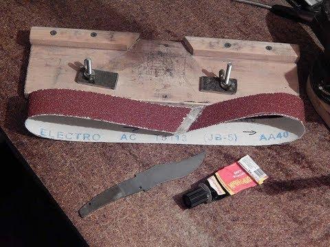 Как склеить ленту на гриндер своими руками