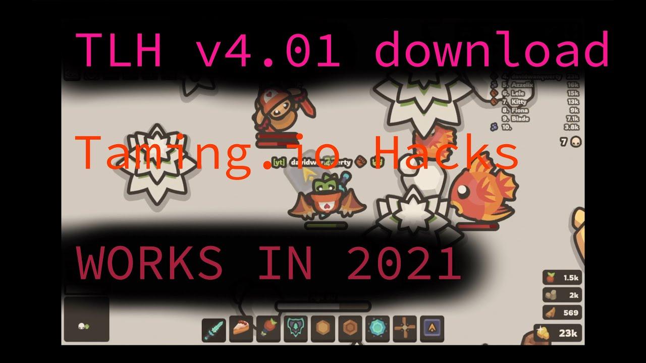 Download Taming.io WORKING HACKS 2021(TotallyLegitHax V4.01)