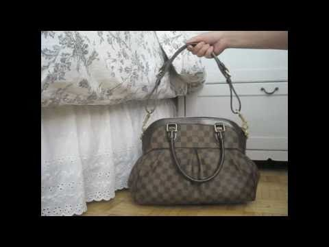 046ac1110dc Louis Vuitton Trevi PM Bag - YouTube