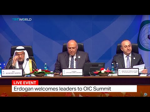 OIC Leaders' Summit opens in Istanbul