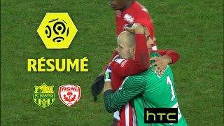 FC Nantes - AS Nancy Lorraine (0-2)  - Résumé - (FCN - ASNL) / 2016-17