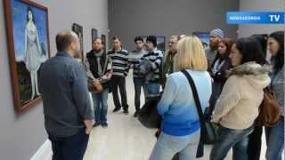 видео Пиросмани и компания! Выставка Московского музея современного искусства на Платоновском фестивале