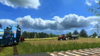 Symulator Farmy 2011 II Zniwa Kukurydziane + Orka II Bizon Rekord Ursus D47