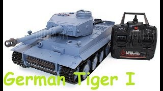 Танк Heng Long German Tiger I 1:16 | Распаковка И Запуск | Mikerc 2017 Fhd