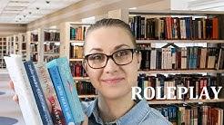 Kirjasto roleplay - ASMR Suomi