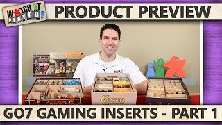 Product Preview - Go7 Gaming Inserts - Part 1