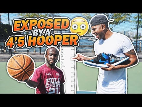 GOT EXPOSED BY A 4'5 HOOPER!!! 😳😱 1 V 1 AGAINST MANI LOVE!!