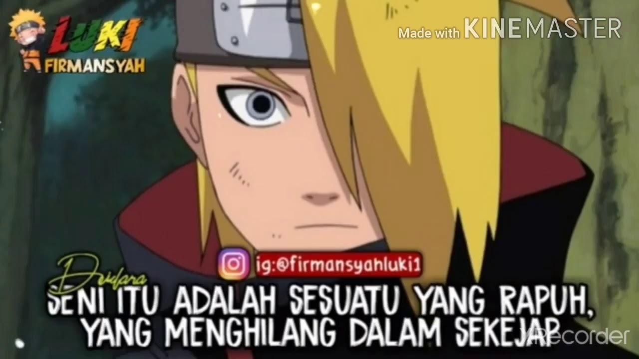 Kata Kata Bijak Di Anime Naruto Youtube