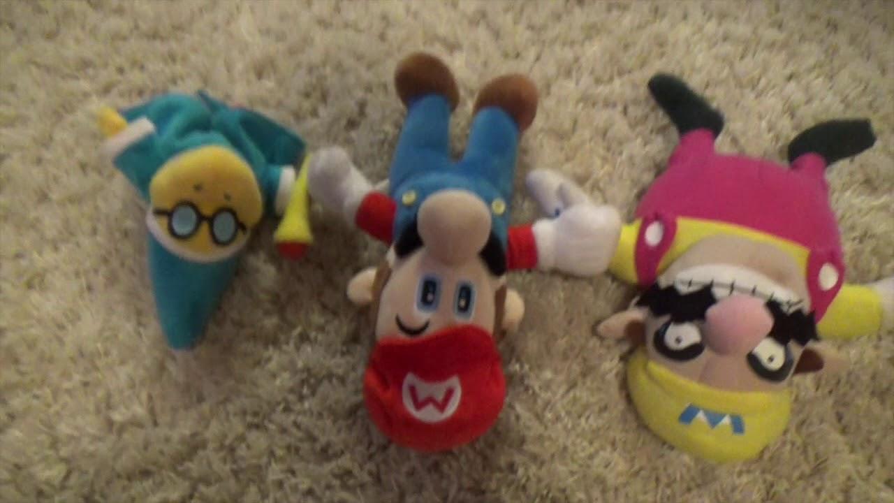 Mario Plush Party 2 Play as Wario (1/5)