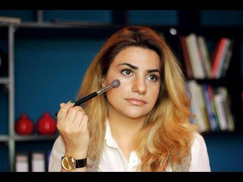 A.S Vizaj - Üz cizgilərinin konturlanması  (Make Up)