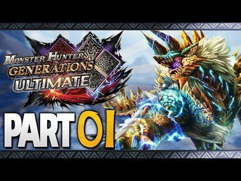 Monster Hunter Generations Ultimate Part 1 Walkthrough