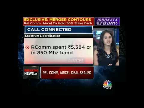 CNBC-TV18 EXCLUSIVE Contours Of The Rel Comm-Aircel Merger