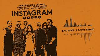 Dimitri Vegas&Like Mike,David Guetta,Daddy Yankee,Afro Bros,Natti Natasha-Instagram (Sak Noel&Salvi)