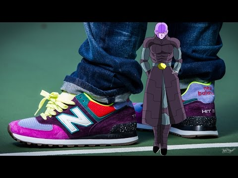 best sneakers ab9a1 0dcd7 New Balance 574 NB1 Hit Dragon Ball Super Unboxing