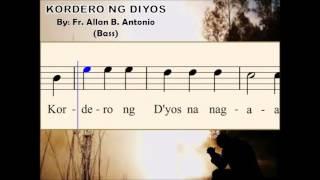 I07d Kordero ng Diyos - by Fr. Allan B. Antonio (Bass)