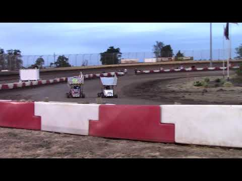 Willamette Speedway, OR - Caged Frenzy - 125cc Cage-Kart Heat #2 - September 9, 2017