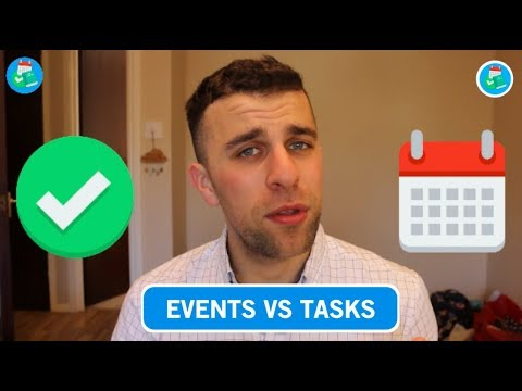 Calendar vs Tasks: What's the Difference?!
