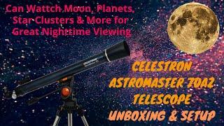 Celestron AstroMaster 70AZ Ref…