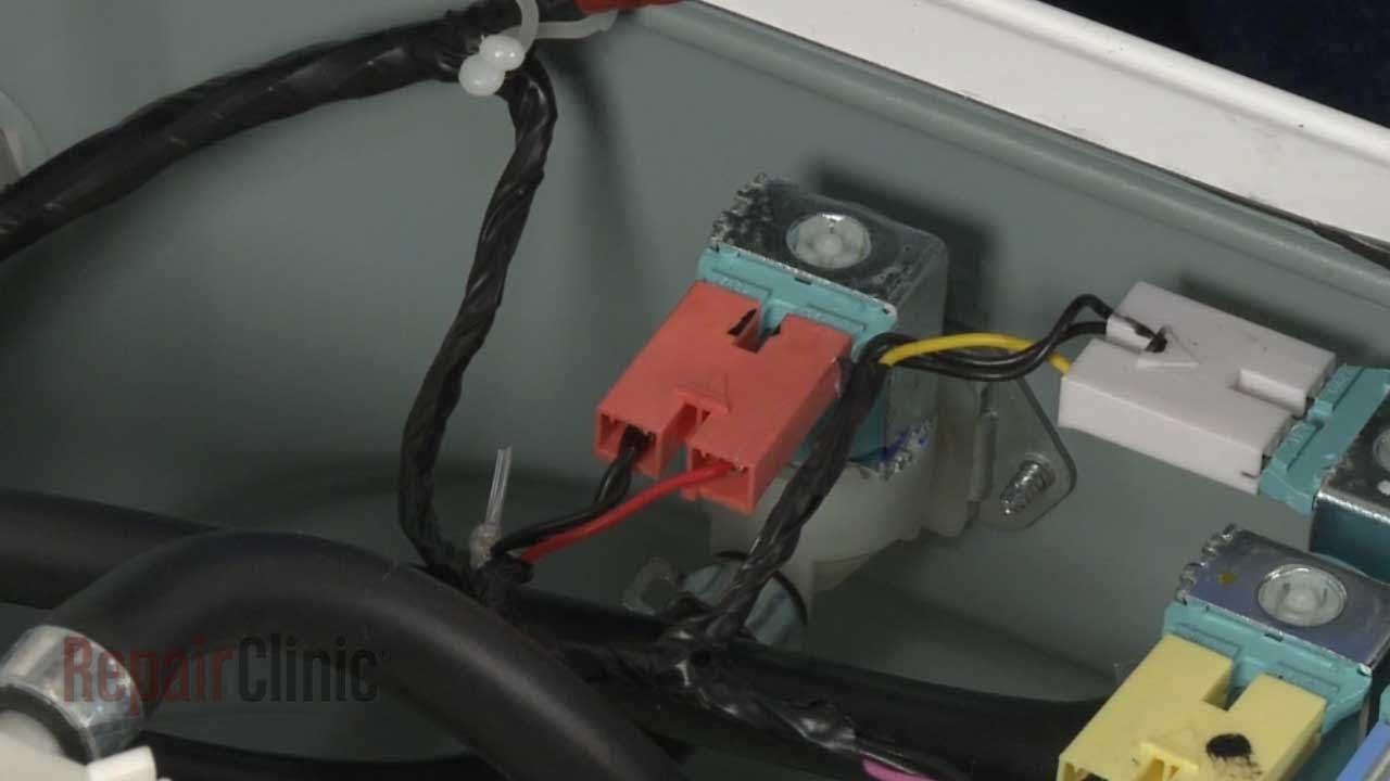 Washing Machine Motor Wiring Diagram Yamaha Atv Starter Solenoid Samsung Washer Water Inlet Valve Replacement Dc62 30314k Youtube