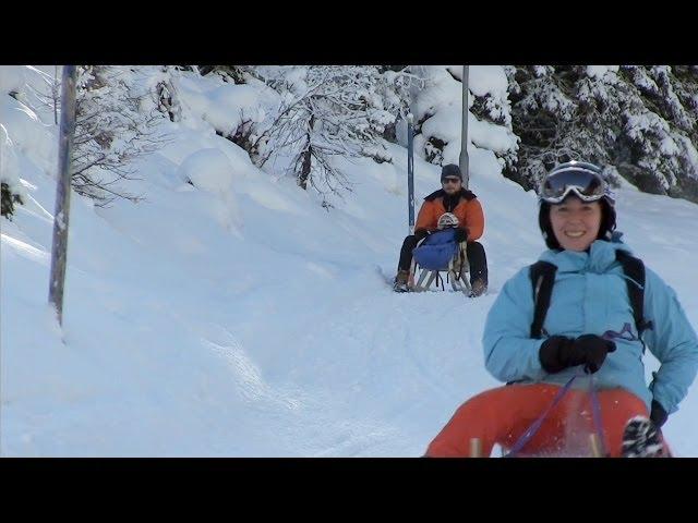 Schlittenfahren in Tirol: Winterurlaub im Skigebiet Tirol ⛷