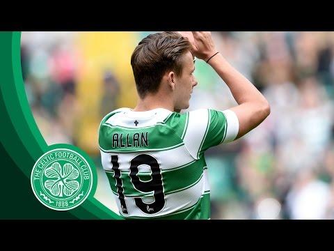 Celtic FC - Scott Allan unveiled at Paradise