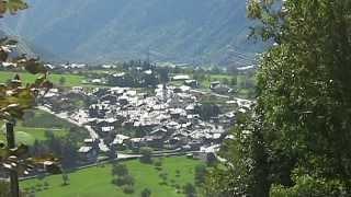 La Salle Aosta  Riprese dei luoghi tipici del comune montano.