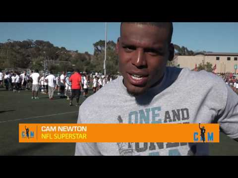 Cam Newton Elite Skills Football Camp Hosted by Matt Leinart