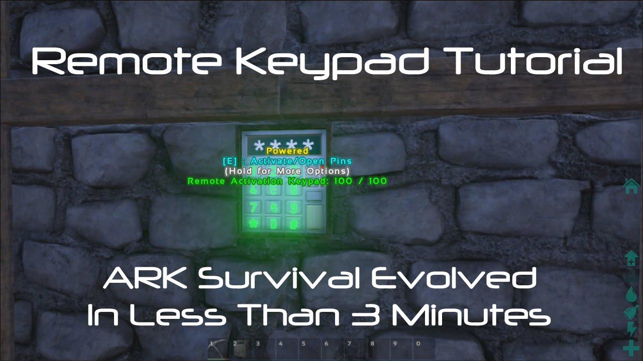 Remote Keypad - Official ARK: Survival Evolved Wiki