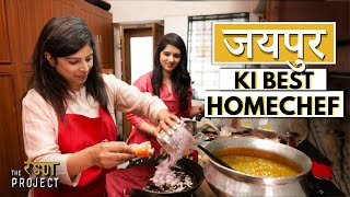 Inside the Kitchen of a Famous Rajasthani Cook – Best Dal Bati Churma