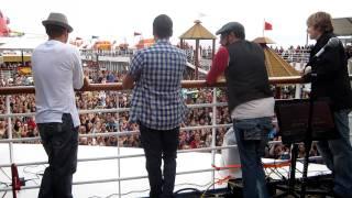 BSB Cruise 2011:  Backstreet Boys Shave my hair