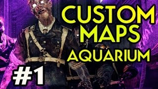 Custom Nazi Zombies Maps: Aquarium w/ Kootra Ep.1 - WHAT A MAN DOES FOR HIS PIZZA