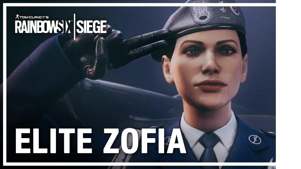 Rainbow Six Siege - Elite set Zofia
