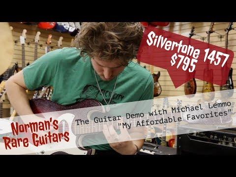 "Norman's Rare Guitars - ""My Affordable Favorites"" - Silvertone 1457"