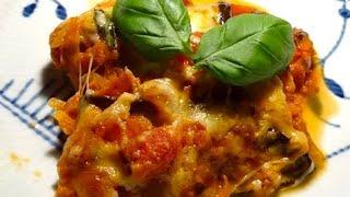 Vegetarian Italian Cheese & Eggplant Lasagna