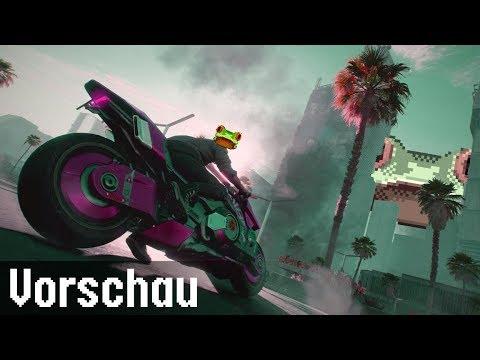 Cyberpunk 2077 | Vorschau / Preview | Gamescom 2019 | LowRez HD | deutsch