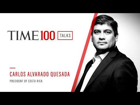 TIME100 Talks with President of Costa Rica Carlos Alvarado Quesada