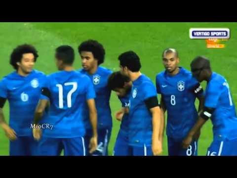 Brazil Vs South Africa 5 0 2014 All Goals & Highlights 05 03 2014 HD International Friendly